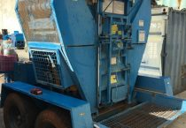 Trailer mounted Cardboard/ Can Baler