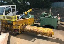 USED Q81/T‐200DA 3-stage automatic Diesel driven baler.